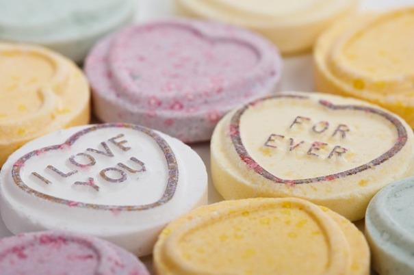 Love Hearts sweets