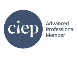 The logo of the Chartered Institute of Editing and Proofreading